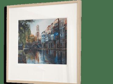 Giclée Print Hamburgerbrug