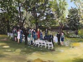 Live Paint Bruiloft Bunnik