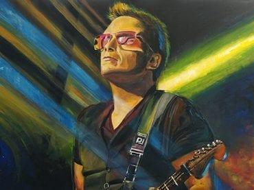 Portret Gitarist