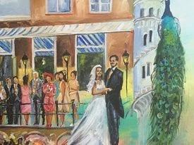 Live Paint Bruiloft Den Haag
