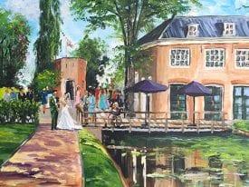 Live Paint Bruiloft Rotterdam