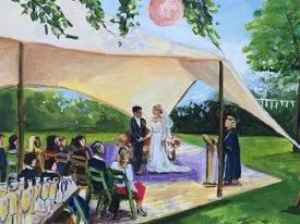Live Paint Bruiloft Utrecht