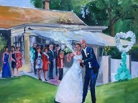 Live Paint Bruiloft Heemstede