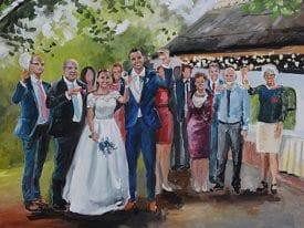 Live Paint Bruiloft Breda