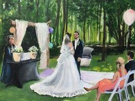 Live Paint Bruiloft Elst
