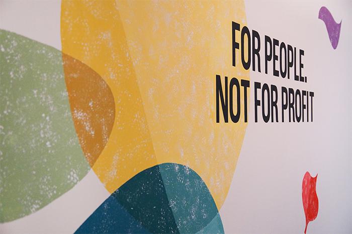 Fairtrade Kleuren Muurschildering