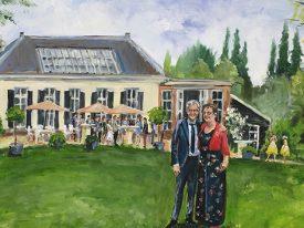 Live Paint Jubileum de Bilt