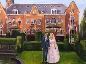 Live Paint Bruiloft Baarn
