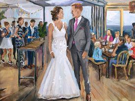 Live Paint Bruiloft Wassenaar