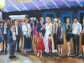 Live Paint Bruiloft Woensdrecht