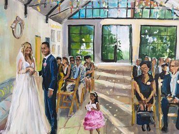 Live Paint Bruiloft Dordrecht