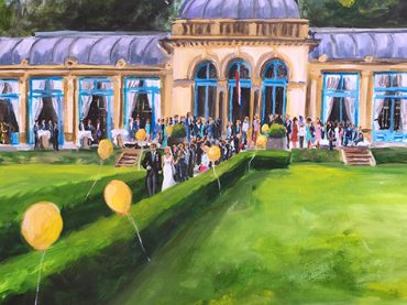 Live Paint Bruiloft Overveen