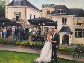 Live Paint Bruiloft Rijswijk