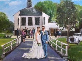 Live Paint Bruiloft Purmerend