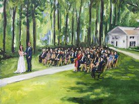 Live Paint Bruiloft Vught