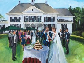 Live Paint Bruiloft Brummen