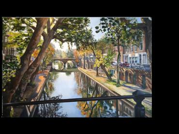 Schilderij <br> Weesbrug | verkocht