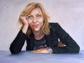 Portret Claudia de Breij
