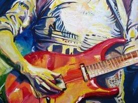 Schilderij 'Play'
