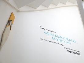 Inspiratie tekst Muurschildering