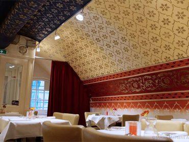 Restaurant India Port Wandschildering