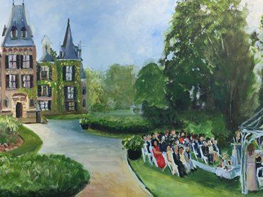 Live Paint Bruiloft Lisse