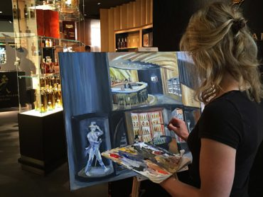 Live Paint Event Johnnie Walker
