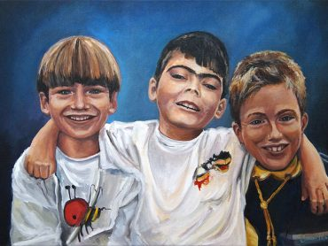 Portret drie broers