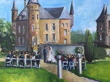 Live Paint Bruiloft Heeswijk