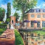 live paint bruiloft Koethuis Rotterdam