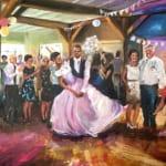 Live Paint Castricum bruiloft