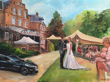 Live Paint collage Wassenaar