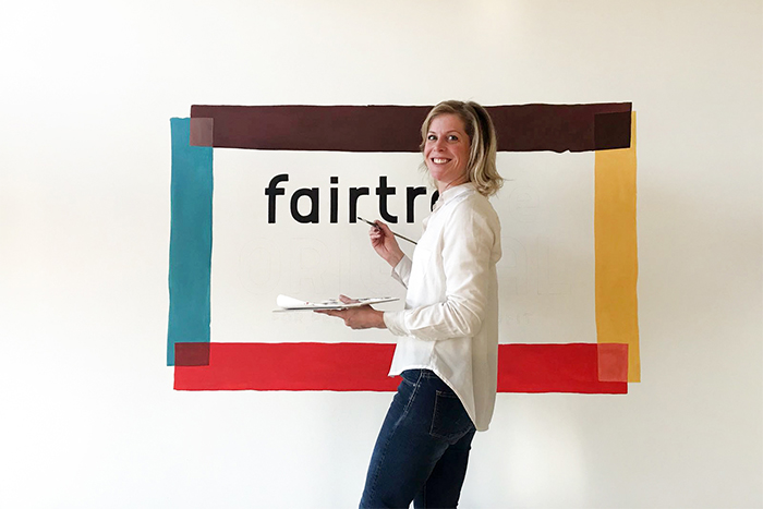 Logo Muurschildering Fairtrade