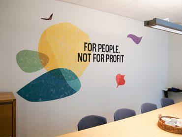 Fairtrade Original Huisstijl Muurschildering