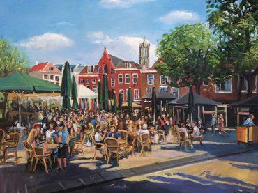 Schilderij de Neude, Utrecht
