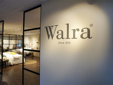 Vespo • Walra Logo muurschildering
