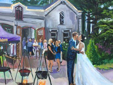 Live Paint Bruiloft Rheden