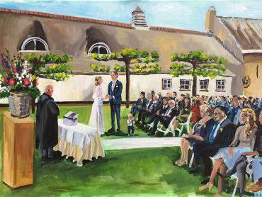 Live Paint Bruiloft Leiden