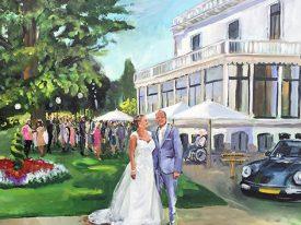 Live Paint Bruiloft Putten