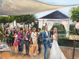 Live Paint Bruiloft Delft