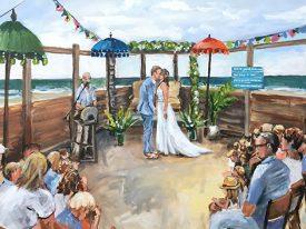 Live Paint Bruiloft 's Gravenzande