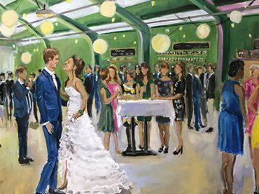 Live Paint Bruiloft Maastricht