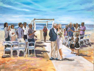 Live Paint Castricum aan Zee