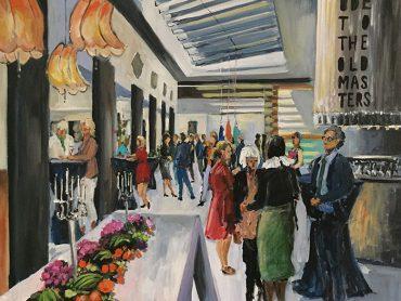 Live Paint Artemis Hotel Amsterdam