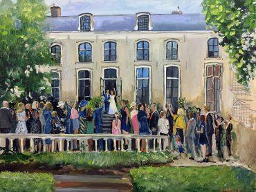 Live Paint Den Haag