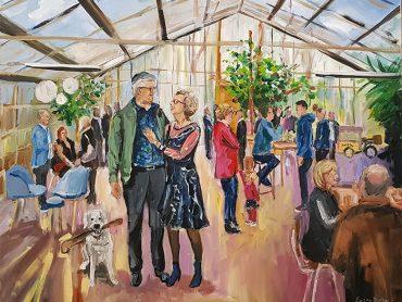 Live Paint Jubileum Winssen