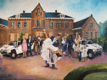After Paint Bruiloft
