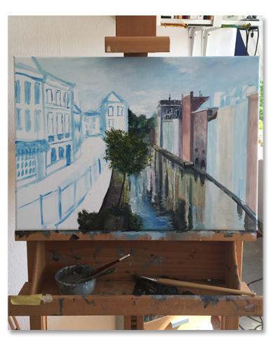 schilderij utrecht stad laten maken