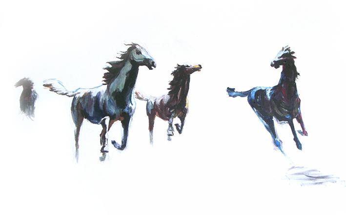 schilderij dier laten maken