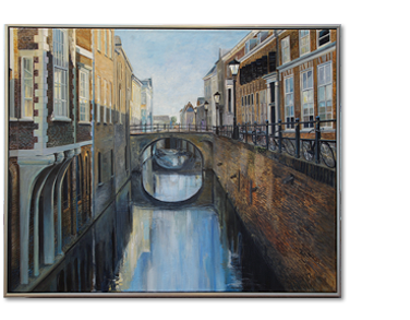 Schilderij Drift Utrecht